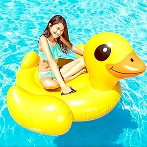 """Inflatable Duck For Pool 58""""x58""""x32"""" NEW INTEX"""